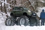 FIAT Panda 4x4, con ruedas gigantes