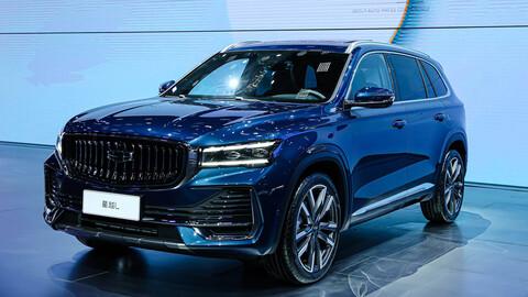 Shanghái 2021: Geely Xingyue L es un SUV donde lo primero son las pantallas