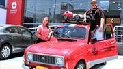 Colombianos recorren Suramérica en Renault 4 Master