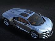 Bugatti Chiron estrena techo panorámico