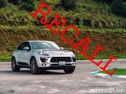 Porsche Macan es llamado a revisión por fugas de combustible