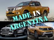 Nissan, Renault y Mercedes-Benz producirán pick ups en Argentina