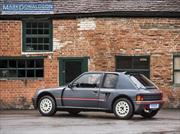 ¿Te gusta el rally? Mira este Peugeot 205 T16