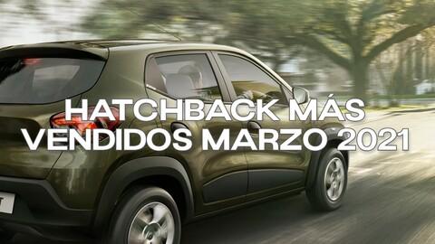 Top 20 - hatchback más vendidos en Colombia en marzo de 2021