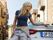 Maserati y la súper modelo Genevieve Morton