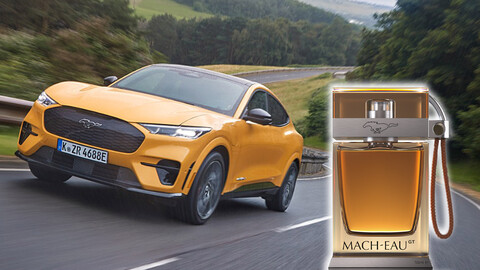 Ford desarrolla un perfume con olor a gasolina para el Mach-E GT