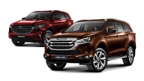 Isuzu MU-X 2021: ¿Dará pie a un nuevo SUV para Mazda?