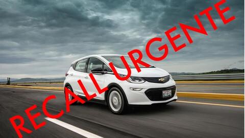 Chevrolet Bolt modelos 2017 a 2022 llamado a revisión, hay riesgo de incendio