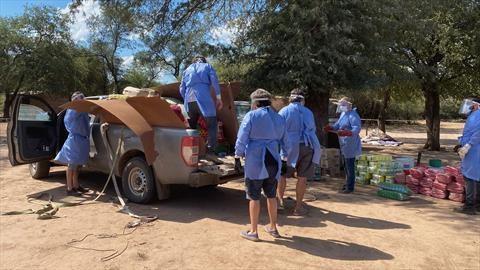 La Chata Solidaria llevó de manera urgente sus Ford Ranger a El Impenetrable chaqueño