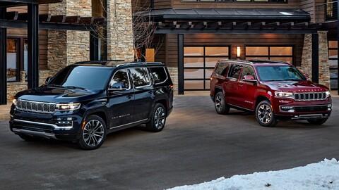 Jeep Wagoneer y Grand Wagoneer 2022: Para competir en las grandes ligas