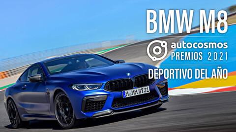 Premios Autocosmos 2021: el BMW M8 es el Auto Deportivo del Año