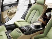 Solo en Japón, un Audi A8 con vaporera de arroz incluida