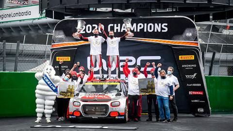 Mads Østberg y Marco Bulacia cerraron un excelente año en la WRC2 y WRC3 junto al Citroën C3 R5