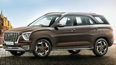 Hyundai Alcazar 2022, el Creta de siete plazas es una realidad