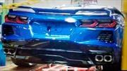 Chevrolet Corvette C8 2020 fue sorprendido de espaldas y sin camuflaje