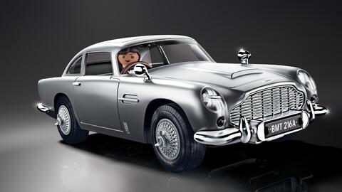 Aston Martin DB5 Playmobil, licencia para armar