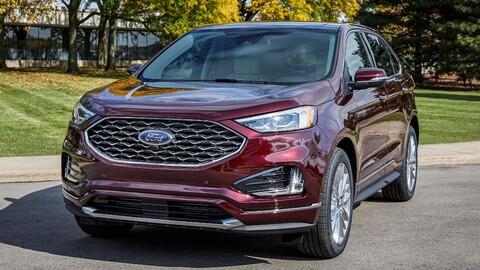 Ford Edge 2021 recibe la pantalla táctil más grande de su segmento