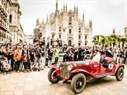 Alfa Romeo 6C 1500 GS vence en la Mille Miglia 2018