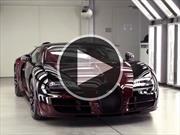 Video: Conoce cómo se fabricó el último Bugatti Veyron