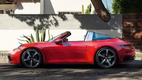 Porsche 911 Targa 2021: diseño, poder y tecnología son perfeccionados