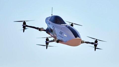 Airspeed EXA: el primer auto carreras capaz de volar