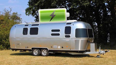 Airstream y su casa rodante que sirve para recargar autos eléctricos