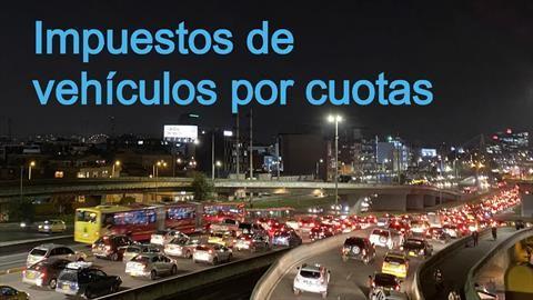 Impuestos de vehículos de Bogotá se pueden pagar por cuotas