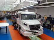 Mercedes-Benz Argentina montó la primera unidad con ejes nacionales