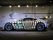 Aston Martin Gulf Vantage GTE, un Art Car listo para las 24 Horas de Le Mans