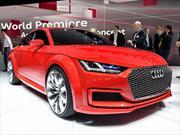 Audi TT Sportback Concept presente en París 2014