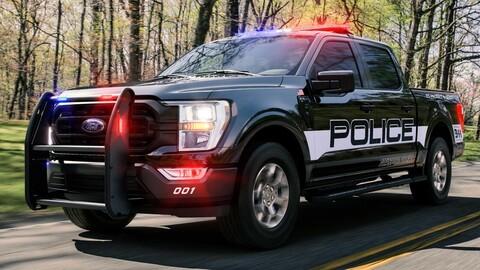 Ford F-150 Police Responder 2021 es la patrulla más rápida de todas, incluidos sedanes y SUVs
