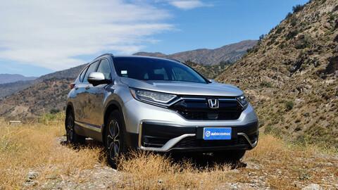 Probamos la Honda CR-V 2021