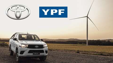 Toyota Argentina produce en Zárate solo con energía renovable