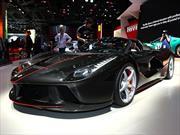 Ferrari LaFerrari Aperta, se saca la galera en París