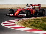 F1 Ferrari y Vettel lideran el primer día de pruebas