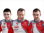 WRC: Ellos son los pilotos de Citroën Racing para 2017