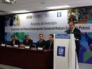 General Motors anuncia inversión de 87 millones de dólares en su planta de San Luis Potosí
