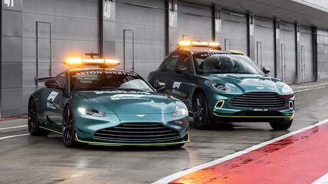 Aston Martin Vantage AMR y DBX, listos para marcarle el ritmo a los mejores
