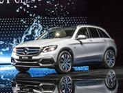 Mercedes-Benz GLC F-Cell, un híbrido plug-in con pila de combustible