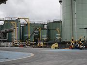 De visita en la planta Petrobras