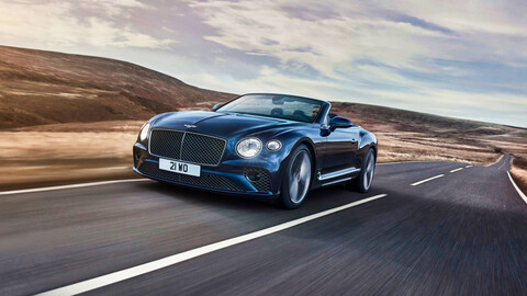 Bentley Continental GT Speed Cabrio 2022, un descapotable simplemente idílico