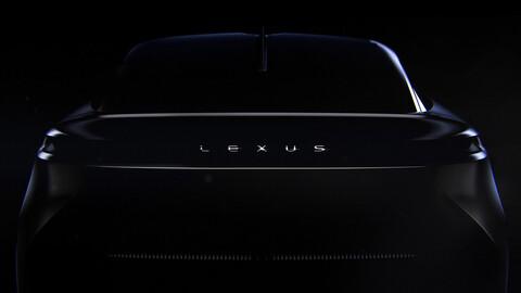 Lexus libera un segundo adelanto de su próximo auto eléctrico