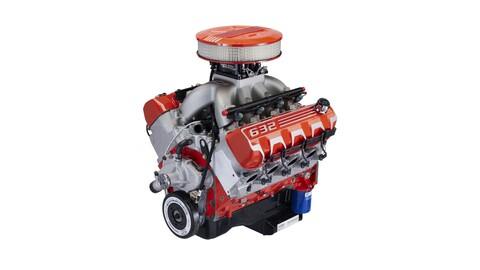 Chevrolet crea un motor V8 de 10 litros con una potencia superior a 1,000 hp