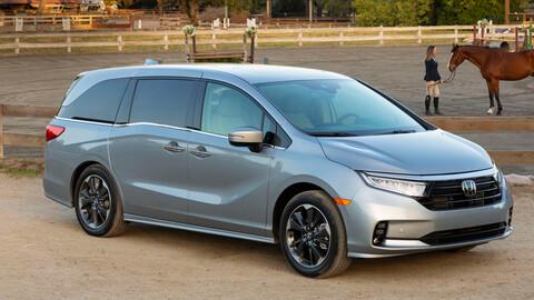 Honda Odyssey 2021, cambios en diseño y equipamiento