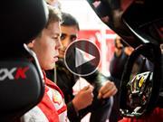 Video: Sebastian Vettel lleva al límite a la Ferrari FXX K