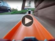 Video: Así se vé desde un Hot Wheels