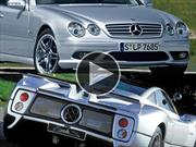 Video: Mercedes que suena como Pagani Zonda