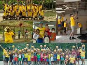 Voluntarios de GM Colmotores, grandes protagonistas en El Salado, Bolivar