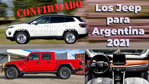 Las novedades de Jeep para Argentina en 2021