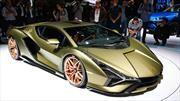 Lamborghini Sián, el relámpago italiano caerá en Frankfurt
